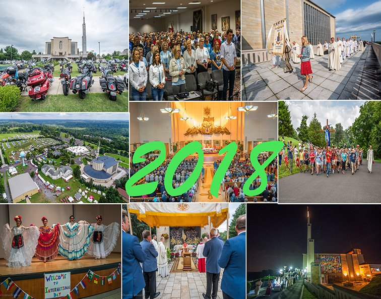 YEAR IN REVIEW 2018 - National Shrine of Our Lady of Czestochowa