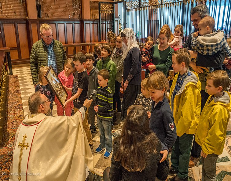 Blessing of Children in Honor of St. Paul the First Hermit