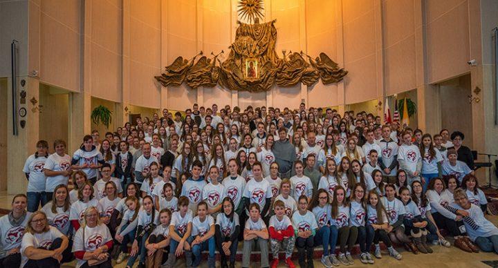 Rekolekcje Młodzieży Polonijnej w Amerykańskiej Częstochowie
